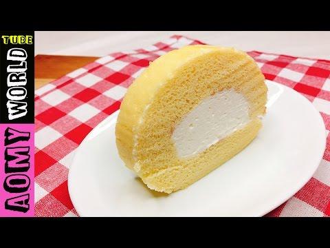 Japanese Swiss Roll | How to make Swiss Roll | Soft Roll | Cake Rolls | Log Cake | YUMMY ❤