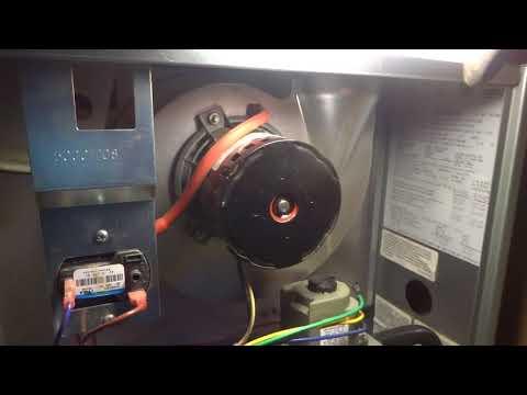 gas furnace not heating house / noisy