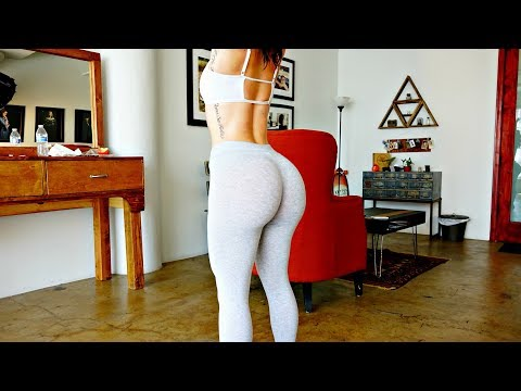 Butt Lifting Home Workout - No Equipment - Lunges