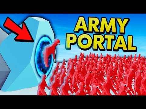 TABS ARMY PORTAL + VIEWER SUGGESTIONS! (Totally Accurate Battle Simulator Gameplay)