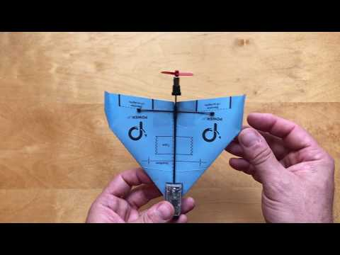 How to assemble  -  Invader template for POWERUP DART