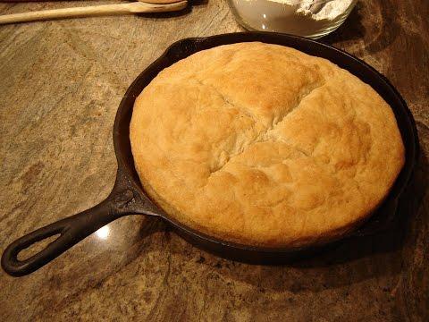 No Knead Skillet Bread by Diane Lovetobake