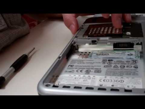 TC1100 HP Tablet PC  - Hard Drive Removal and Replacement