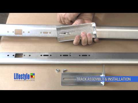 Track Assembly & Installation: Lifestyle Screens garage door screen