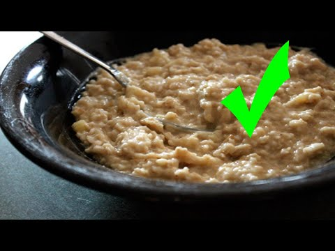 Eating Oatmeal Everyday For A Month Causes This To Your Body