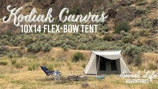 Kodiak Canvas 10x10 Flex-Bow VX Tent