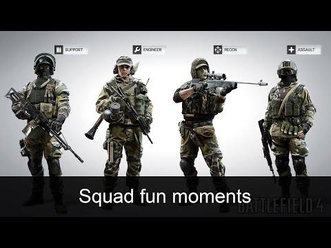 Squad fun moments