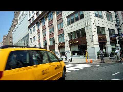 new york city cab ride
