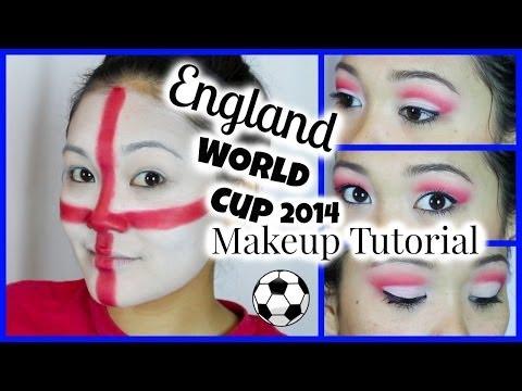 England World Cup 2014 Makeup Tutorial