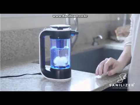 sanilizer,Sterilization handwriting, electrolysis, bacteria removal, bacteria   YouTube 360p