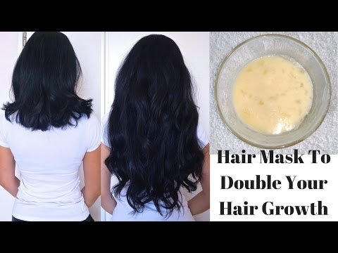 Hair Mask To Double Your Hair Growth In Just 1 Month | DIY Egg Hair Mask