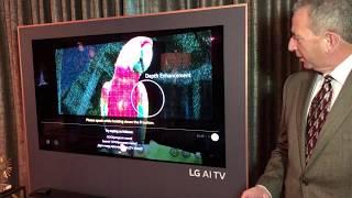 CES 2018: LG TVs get an AI chip