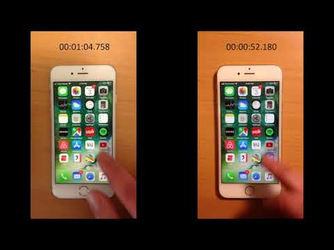 iPhone 6s Battery Replacement Performance Comparison