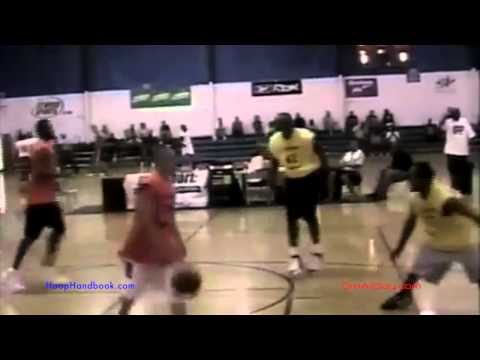 My First Pro Basketball Exposure Camp [2005] Pt. 1 | Dre Baldwin