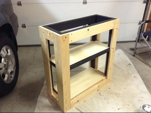 Not So Little Tutorial | DIY Tank Stand