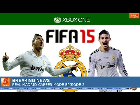 FIFA 15 CAREER MODE | REAL MADRID EPISODE 2 | TRANSFERS