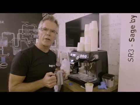 How to Texture Milk for Espresso on Sage Espresso Machines for Latte Art
