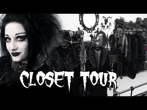 Gothic Wardrobe Tour | Black Friday