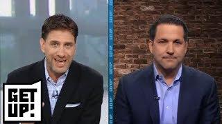 Adam Schefter talks latest on Roquan Smith, Aaron Donald, Khalil Mack, Jets QBs| Get Up! | ESPN