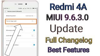 Redmi 4A - MIUI 9 5 1 0 (FEATURES) - PlayingItNow: All the