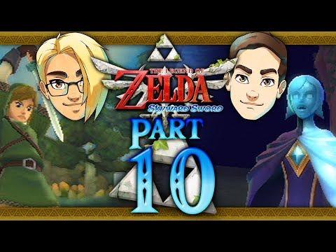 Let's Race: The Legend of Zelda: Skyward Sword (Hero Mode) Part 10 - Faron Silent Realm