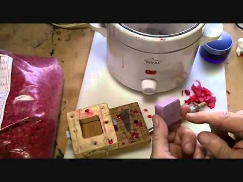 how to make a wax injector for jewelry investment casting