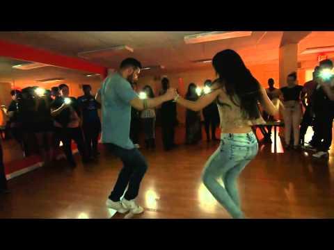 ▶ Daniel and Desiree   Sensual Bachata at Ferocity Dance Company