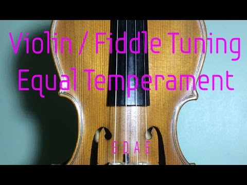 Violin tuning tuner / Fiddle tuning tuner