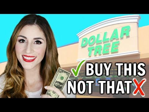 What You SHOULD and SHOULDN'T Buy At The Dollar Tree   Shop with Me [ But First, Coffee ]