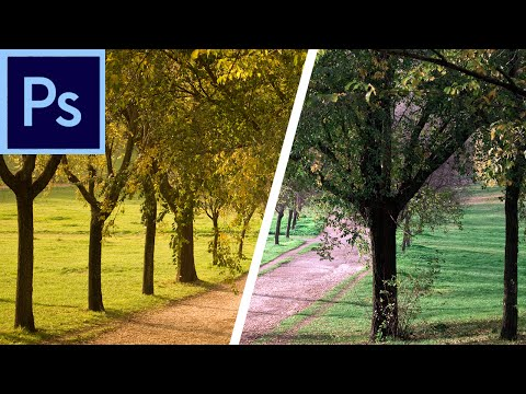 Photoshop Tutorial: Steal the Color & Tone of an Image with Match Color  -HD-