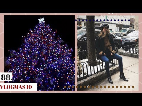 Christmas Tree: Real VS Fake... | Where to Find a Bathroom in NYC | Vlogmas Day 10