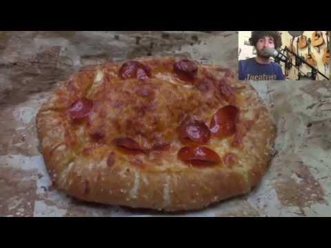 Cheese Stuffed Pretzel Crust Pizza - How To Fix Kitchen Failures