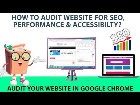 How to Audit Website for SEO, Performance & Accessbility | Hindi