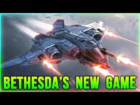 Bethesda's NEW Action Adventure Game - Is it Starfield?   (E3 2018)