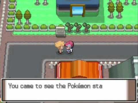 Pokemon Platinum Walkthrough Part 12: Eterna City