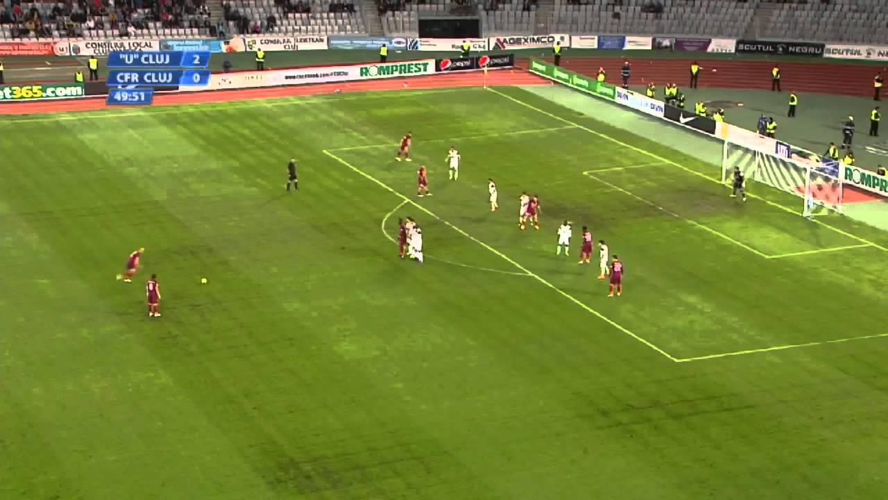 U Cluj - CFR Cluj 2-3 Rezumat HD CFR CLUJ Campioana 2011-2012