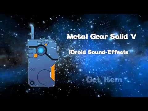 Metal Gear Solid V iDroid All SoundEffects