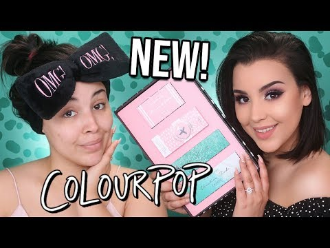 NEW MYLIFEASEVA X COLOURPOP COLLECTION! FIRST IMPRESSIONS + SWATCHES! | MakeupByAmarie