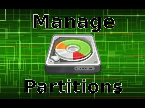 Manage your drive Partitions in Linux Mint