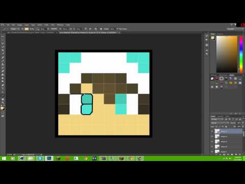 How To Make Your Very Own Minecraft / Cartoon Head!