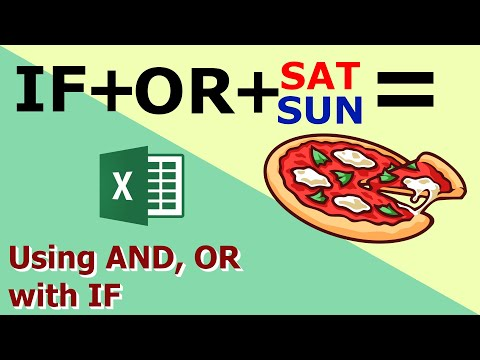 How to use AND, OR with the IF Function | Using IF, AND, OR together