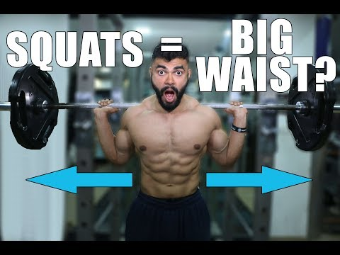 Do Squats & Deadlifts make the Waist THICKER?    Will Squats and Deadlifts thicken your waist?