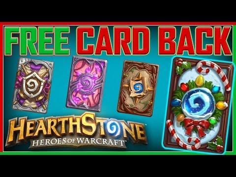 Hearthstone- Sweet New FREE Card Back!!!