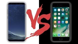 مقارنة بين سامسونج اس 8 بلس و ايفون 7 بلس | بعد الاستخدام المكثف !