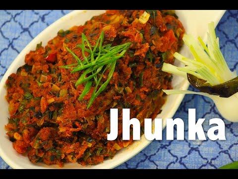 Jhunka #Maharashtrian Tadka | ChefHarpalSingh
