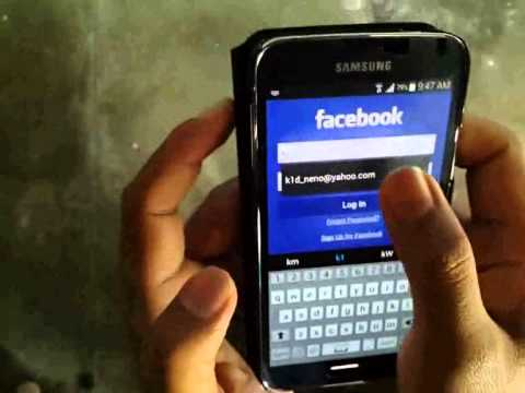 Samsung Galaxy S5 : How to Add Facebook Apps (Android Phone)