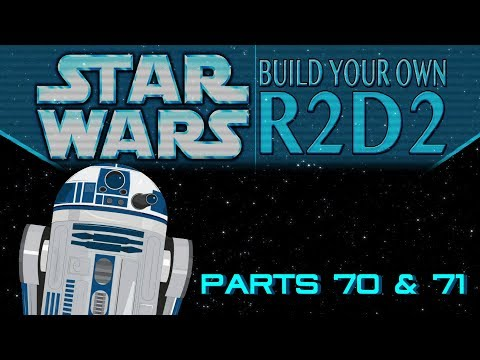 DeAgostini Build Your Own R2D2 Part 70 & 71: Body Bottom