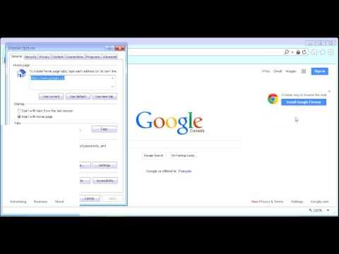 Fix Internet Explorer Blank or Empty Window - Nothing Displaying in IE 10, 9 or 8