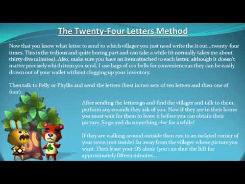 Foolproof Strategy - How to get a Villager's Picture in Animal Crossing: Wild World