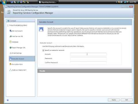 Configure a Report Portal in SSRS